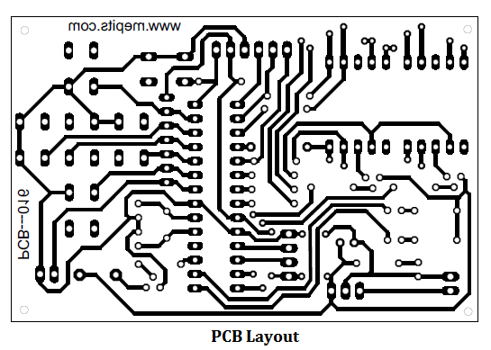 Alarm Carpet PCB