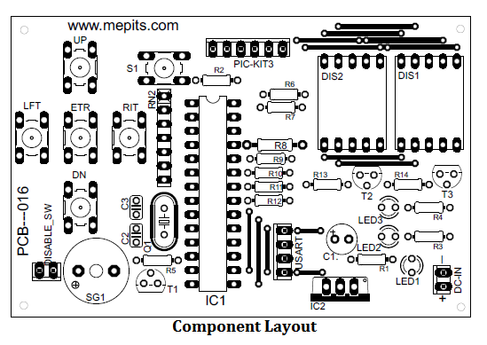 carpet alarm component layout