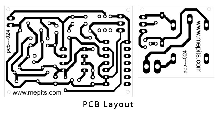 Laser Controlled Device PCB
