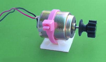 motor for solar powered car