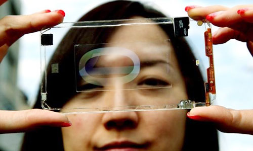 Two Sided Transparent Touchscreens