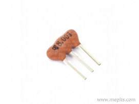 8 MHz 3 Pin Ceramic Crystal Oscillator