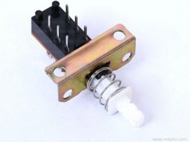 2 Pole 2 Way DPDT 6pin ON OFF Switch