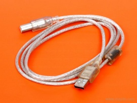 USB A Male to B Male AX550 Cable