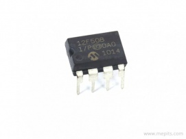 PIC12F508 Microcontroller IC