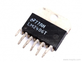 LM2406 Monolithic Triple 9ns CRT Driver IC