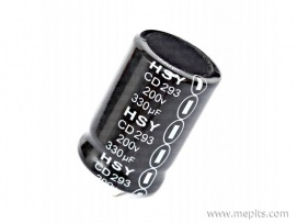 330uf 200V DC Electrolytic Capacitor