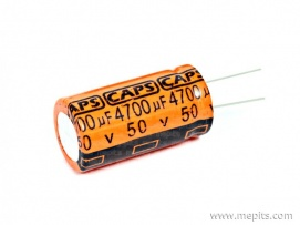 4700uf 25V Caps DC Electrolytic Capacitor