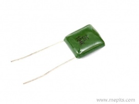 100nf 400V DC Green Polyester Capacitor