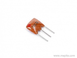 10.7 MHz 3 Pin Ceramic Oscillator Crystal