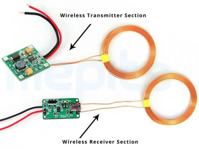 Wireless Power Transmission Mobile Charger Circuit Using Inductive Coupling