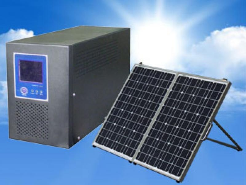 How to build a solar powered generator