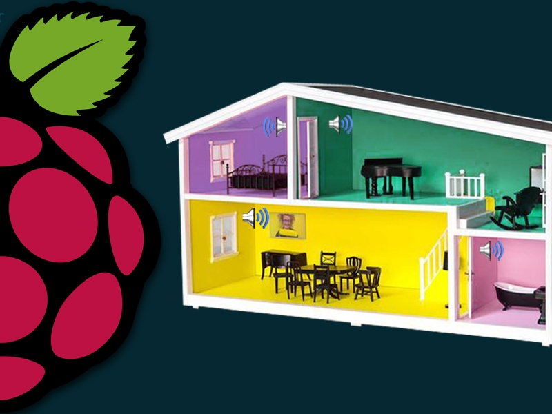 Raspberry Pi's Projects: Raspberry Pi Multi-Room Music Player