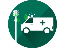 AUTOMATIC AMBULANCE RESCUE WITH INTELLIGENT TRAFFIC SYSTEM
