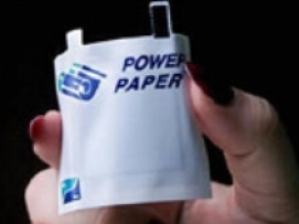 Power Paper: Paper that store electricity