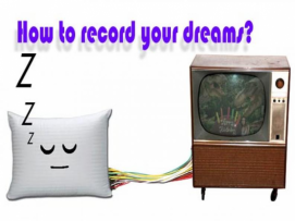 How to record your dreams