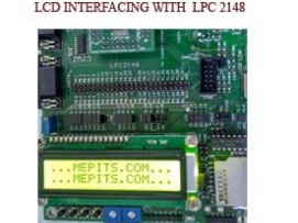 How to interface LCD with ARM