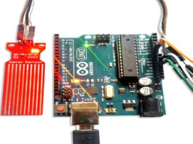How to interface Arduino with Water Sensor